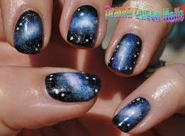ombre nail design tumblr nails design galaxy beautify themselves with sweet nails