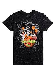 space jam sweater space jam looney tunes tune squad splatter t shirt topic
