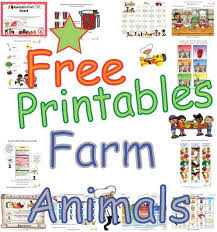 farm animals educational worksheets and activities that teach