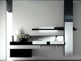 lovely country bathroom vanities design with black drawers also