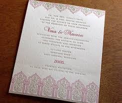 blessing invitation vara a new multicultural wedding invitation letterpress