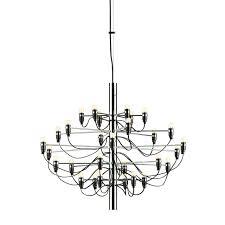 chandelier chandelier 2097 contemporary mid century chandelier by gino sarfatti