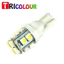 center high mount stop light bulb tricolour 10x t10 14smd 1210 194 168 w5w center high mount stop