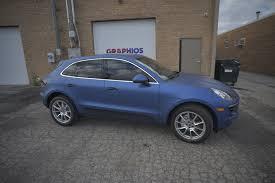 matte blue porsche bmw 650i car wrap color change with 3m satin blue car wrap ideas