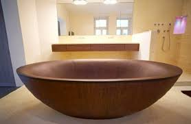made out of wood wooden bathtubs insteading