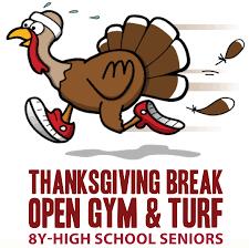 thanksgiving open turf woodridge park district arc