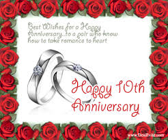 10th year wedding anniversary 10 wedding anniversary cards tbrb info