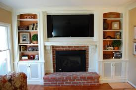 Fireplace Mantels For Tv by Tv Above Fireplace Mantel Home Design Ideas
