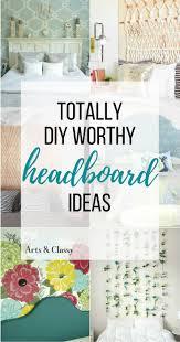 easy diy headboard surprisingly easy diy headboards arts and classy