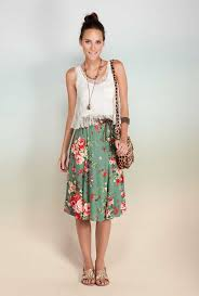 saia mid saia para todos os gostos clothes boho and mid length skirts