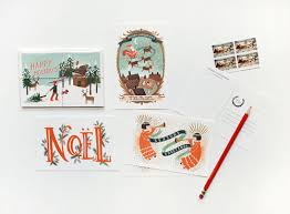 Graphic Design Holiday Cards Holiday Cards From Rifle Paper Co Paper Crave