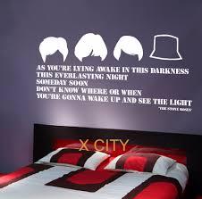 bedroom lyrics the stone roses lyrics large wall art quote bedroom sticker decal