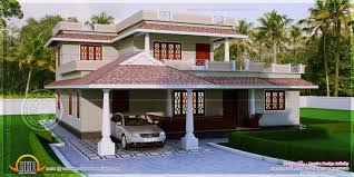 300 Square Meters 4 Bedroom Kerala Style House In 300 Square Yards Kerala Home