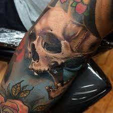 color skull brent junkies by