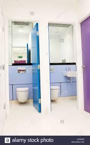 contemporary office bathroom toilet cubicle interior design
