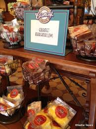 dining in disneyland gourmet marshmallows at trolley treats the