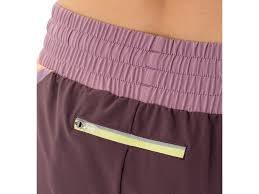 cheapest sale womens asics clothing asics distance short melon