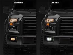 2015 f150 led fog lights vividline f 150 1400 lumen led fog light conversion kit h10