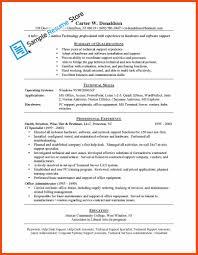 Computer Help Desk Resume Computer Support Specialist Resume Program Format
