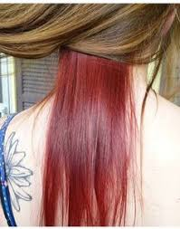 brown with red underneath hair gallery brown hair with burgundy underneath women black