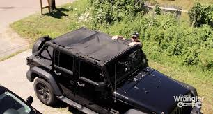 homemade tactical vehicles diy mesh shade screen top for your wrangler youtube