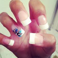 best 25 french tip acrylics ideas only on pinterest french tip