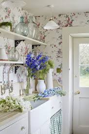 country kitchen wallpaper ideas 43 best home decor enamelware images on home