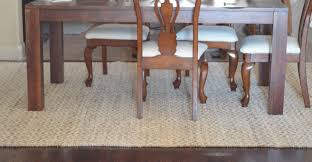 rug dining room area rugs connecting dining and living room trying to make my