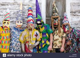 traditional cajun mardi gras costumes wearing traditional cajun mardi gras costumes and mask