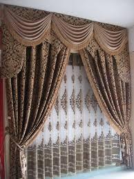 Buy Valance Curtains Luxury European Style Jaquard Window Curtains Drapes Buy