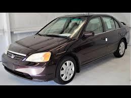 honda civic ex 2001 used 2001 honda civic ex sedan for sale 1l055605 buford ga