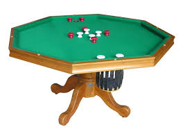 amazon com 3 in 1 game table octagon 48