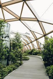 crossrail place roof garden london u2014 haarkon lifestyle and