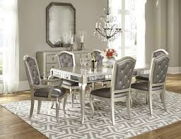 Silver Dining Room Silver Dining Room Set Expansive Chairs Coffee Tables Coat Racks