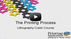 four color process printing explained