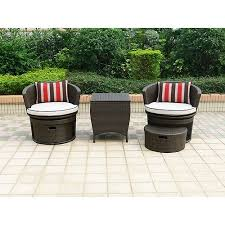 Patio Chair With Ottoman Outdoor Chair And Ottoman Set High Customs
