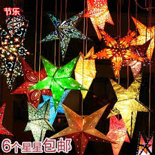 Lanterns Decorated For Christmas by Paper Experience Picture More Detailed Picture About