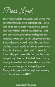 marriage prayers for couples prayer of the day couples contemplating divorce