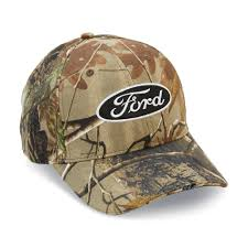Ford Camo Trucker Hat - ford motor company men u0027s ford led hat camo