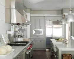 Gray Kitchen Cabinets Benjamin Moore by Gray Green Kitchen Cabinets Contemporary Kitchen Benjamin