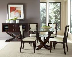 Inspiring Dining Room Furniture Sets With Round Glass Dining Table - Types of dining room chairs