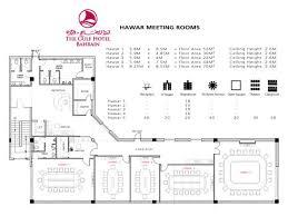 the venues floor plans gulf hotel bahrain