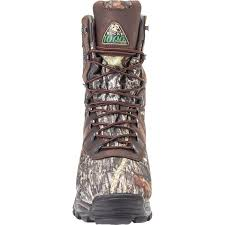 rocky mens sport utility max insulated waterproof hunting boots