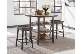 Moriann Counter Height Dining Room Table Ashley Furniture HomeStore - Countertop dining room sets