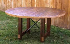 Square Wood Dining Tables Reclaimed Wood Round Dining Table U2013 Threeseeds Co