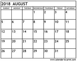 printable calendar 2018 august august 2018 calendar pdf year printable calendar