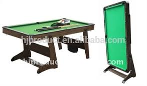 4ft pool table folding cheap price 4ft 5ft 6ft folding pool table with wheels small size