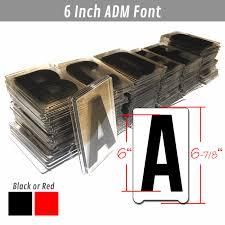sign letters gemini adm 6 inch letter set