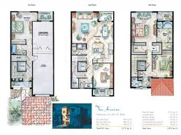 small townhouse floor plans view house plan vacation rendere design archaicawful story plans