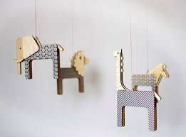 Deer Mobile For Crib